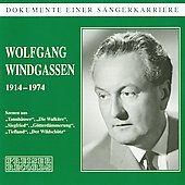 Dokumente einer S&auml;ngerkarriere - Wolfgang Windgassen