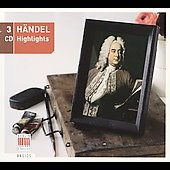 H&#228;ndel Highlights - A sampler of Handel Favorites  from Berlin Classics [3 CDs]