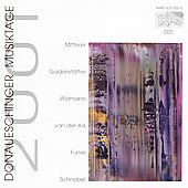 Various Artists: Donaueschinger Musiktage 2001 [Live] [Single]
