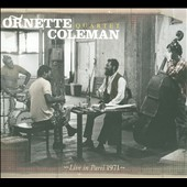 Ornette Coleman Quartet: Live in Paris 1971 [Digipak]