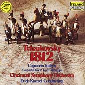 Tchaikovsky: 1812 Overture, etc / Kunzel, Cincinnati SO
