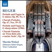 Reger: Organ Works, Vol. 10
