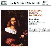 Early Music - Milano: Lute Music / Wilson, Rumsey