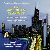The American Clarinet / Combs, Chicago Chamber Musicians