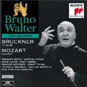 Bruno Walter Edition - Bruckner: Te Deum;  Mozart: Requiem