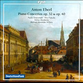 Anton Eberl: Piano Concertos Op. 32 & 40 / Paolo Giacometti, Riko Fukuda