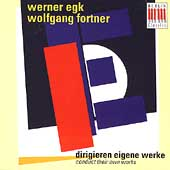 Werner Egk & Wolfgang Fortner Conduct Their Own Works
