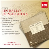 Verdi: Un Ballo in Maschera / Maria Callas, Giuseppe di Stafano, Tito Gobbi. Votto