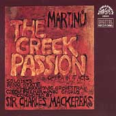 Martinu: The Greek Passion / Mackerras, Mitchinson, Field