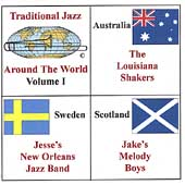 Various Artists: Traditional Jazz Around the World, Vol. 1