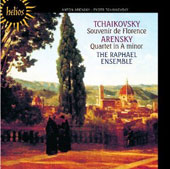 Tchaikovsky: Souvenir de Florence; Arensky: String Quartet no 2 in A minor / Raphael Ensemble