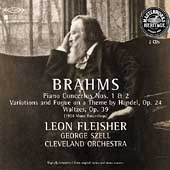 HERITAGE  Brahms: Piano Concertos no 1 & 2, etc / Fleisher