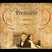 Premiére: Music for bassoon & piano by Pierné; Fenée; Bloch; Vidal; Challan; Martelli / Ryan Romine, bassoon; Sangmi Lim, piano
