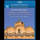 Mussorgsky: Pictures at an Exhibition; Songs and Dances of Death; The Nursery (orchestrated by Peter Breiner) / New Zealand SO [Blu-Ray Audio]