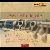 Best of Classic - works by Vivaldi, Bach, Mozart, Dvorak, Tchaikovsky, Grieg / London SO, Wand [3 CDs]