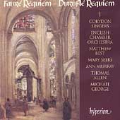 Faur&eacute;, Durufl&eacute;: Requiems / Best, Corydon Singers, English CO