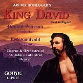 Honegger: King David / Pearson, St. John's Cathedral Chorus