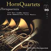 Art&ocirc;t, Bozza, Rimsky-Korsakov, Strauss, et al: Horn Quartets