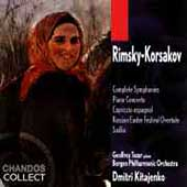 Rimsky-Korsakov: Symphonies, etc / Kitajenko, Bergen PO
