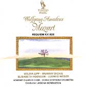 Mozart: Requiem / Horenstein, Lipp, Dickie, H&#246;ngen, et al