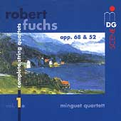 SCENE  Fuchs: Complete String Quartets Vol 1/Minguet Quartet