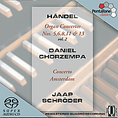 Handel: Organ Concertos Vol 2 / Chorzempa, Schr&#246;der, et al