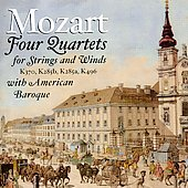Mozart: Oboe Quartets, Flute Quartets / American Baroque
