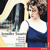 Salzedo, Lizotte, Grandjany: Harp Music / Jennifer Swartz