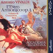 Vivaldi: L'Estro Armonico Op 3 Vol 2 / Dantone, Montanari