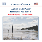 American Classics - Diamond: Symphonies no 2 & 4 / Schwartz