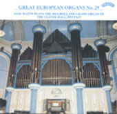 Great European Organs Vol 29 / Jane Watts
