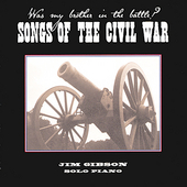 Jim Gibson (Piano): Songs of the Civil War