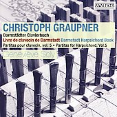 Graupner: Partitas for Harpsichord Vol 5 / Geneviève Soly