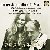 Elgar: Cello Concerto;  Bach / Du Pré, Barbirolli, BBC SO