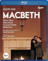 Verdi: Macbeth / Currentzis, Tiliakos, Urmana, Furlanetto [Blu-Ray]