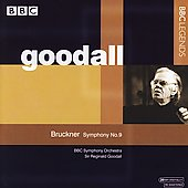 Bruckner: Symphony no 9 / Goodall, et al