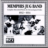 Memphis Jug Band: Complete Recorded Works (1932-1934)