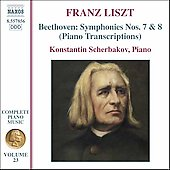 Liszt: Complete Piano Music Vol 23 / Konstantin Scherbakov
