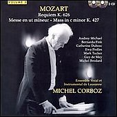 Mozart: Requiem / Corboz, Ensemble Vocal de Lausanne