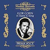 Prima Voce - Igor Gorin in Opera & Song