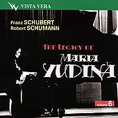 The Legacy of Maria Yudina Vol 6 - Schubert, Schumann