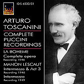 Arturo Toscanini - Complete Puccini Recordings