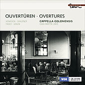 Ouvertures - Heinichen, Graupner, Fasch, Graun / Linde, Cappella Coloniensis