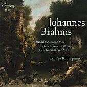 Brahms: Variations and Fugue on a Theme by Handel / Cynthia Raim