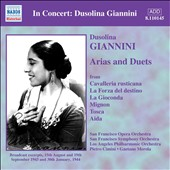 Dusolina Giannini Sings Arias and Duets