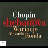 Chopin: Wariacje; Mazurki; Ronda