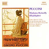 Puccini: Madama Butterfly Highlights / Rahbari, Gauci, et al