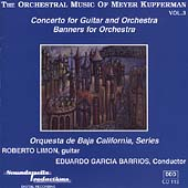 The Orchestral Music of Meyer Kupferman Vol 3