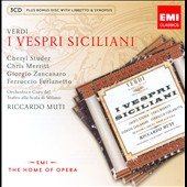Verdi: I Vespri Siciliani / Cheryl Studer, Chris Merritt, Giorgio Zancanaro - Riccardo Muti/La Scala