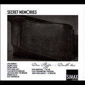 Secret Memories - works for double bass & orchestra by Auerbach, Hauta, Kurtag, Scelsi, Salles / Dan Styffe, double bass